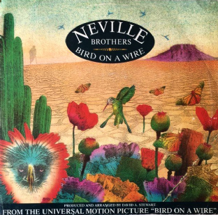 "Neville Brothers ‎- Bird On A Wire (12"") (G-VG/G++)"